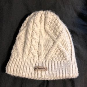 Adorable Collin is thick knit woman's hat